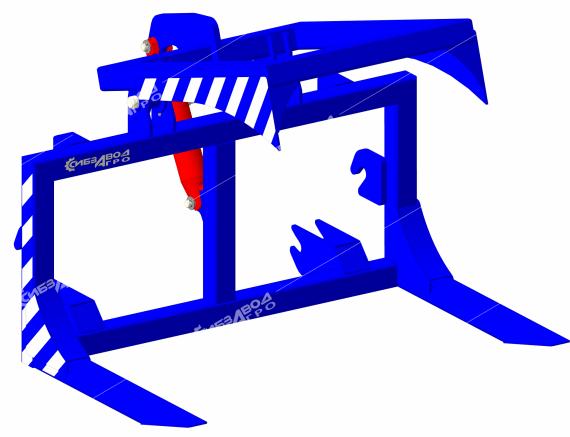Штабелер-бревнозахват Б-1 (к ПФ-1-1200 «Медведь»)
